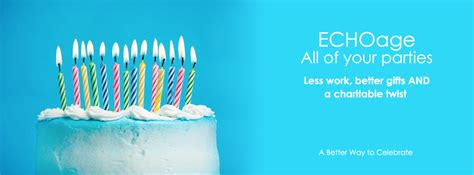 Create A Room Online echoage charity birthday group gifts online invitations