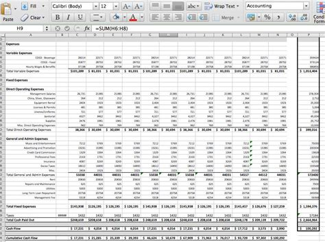 pro forma budget template excel driverlayer search engine