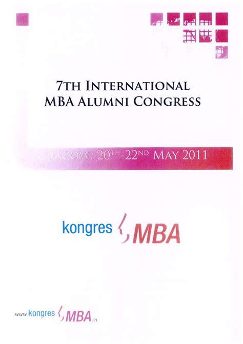Global Mba Th by 7th International Mba Alumni Congress