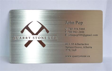Of Calgary Business Card Template by Metal Business Cards Silver Gold Black Free