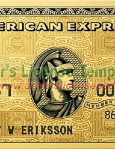American Express Card Template Psd by Drivers License Drivers License Drivers License