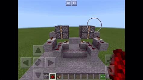 secret door jeb door minecraft pe bedrock edition youtube