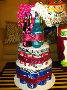 alkohol kuchen 21st birthday cake my 21st