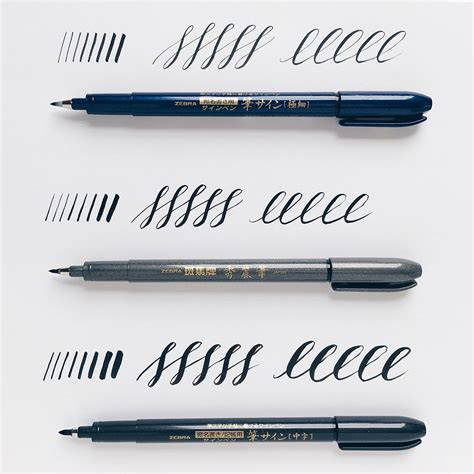 Ink Brush Pen pen paper reviews owl ink