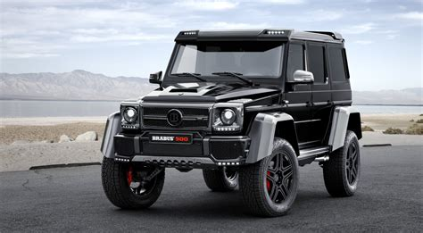 mercedes benz jeep custom brabus mercedes benz g 500 4x4 squared hiconsumption