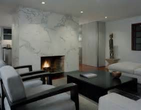 Livingroom Fireplace by Marble Fireplace Surround Living Room Contemporary With