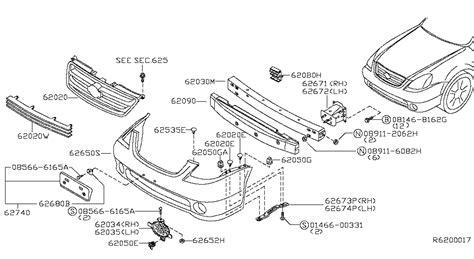 nissan parts nissan an front bumper diagram nissan get free image