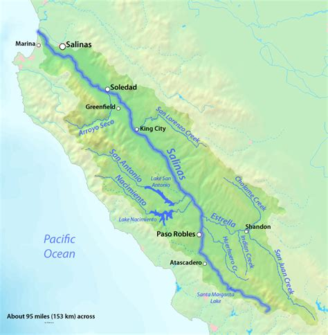 california map rivers and mountains map of rivers and dams in california search