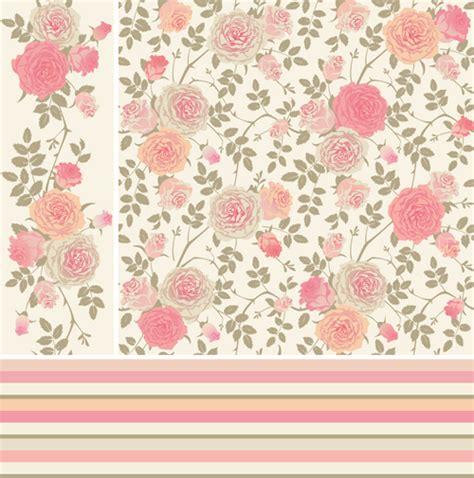 pink rose pattern vector pink rose images