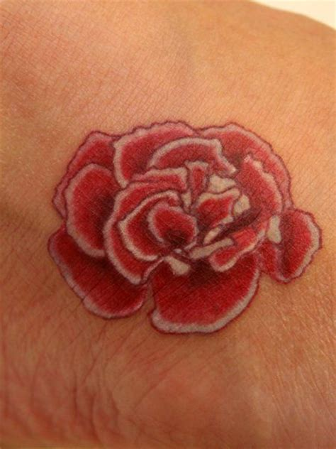 january birth flower tattoo 21 best carnation tattoos images on carnation
