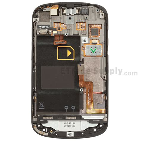 Blackberry Q10 Frame Tengah Lcd blackberry q10 lcd screen and digitizer assembly with