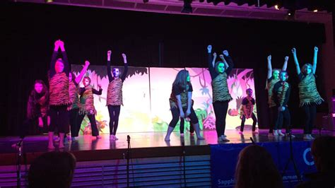 jungle book swing dance sapphire coast schools spectacular performance photos