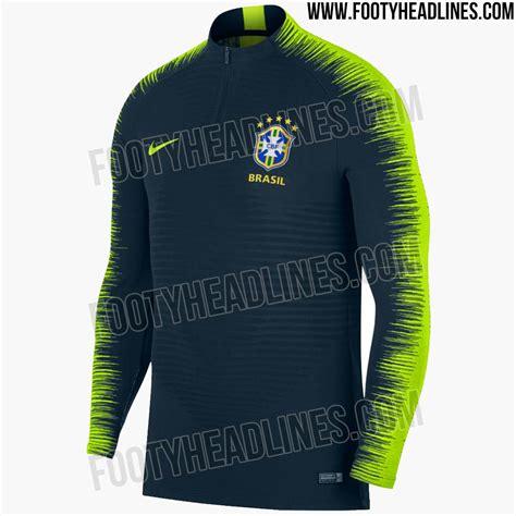 Brasil Mundial 2018 All New Ultra Modern Nike Brazil 2018 World Cup Vaporknit