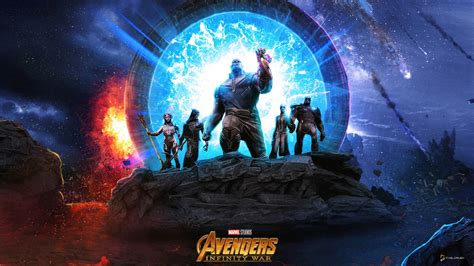 thanos   black order wallpapers hd wallpapers id
