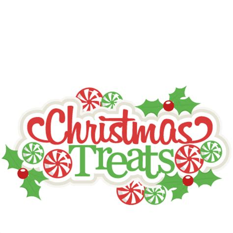 scrapbook title for christmas foods on the table treats title scrapbook cut file clipart files for silhouette cricut pazzles free
