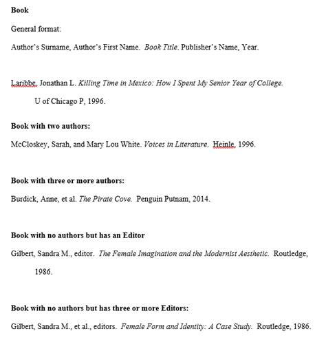 works cited page mla citation style 8th edition