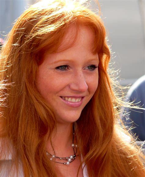 file german woman portrait dutch summer festival of the