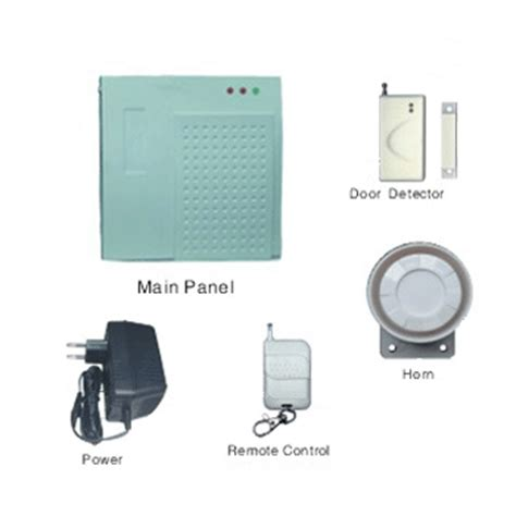 china simple home alarm system 1007 china home