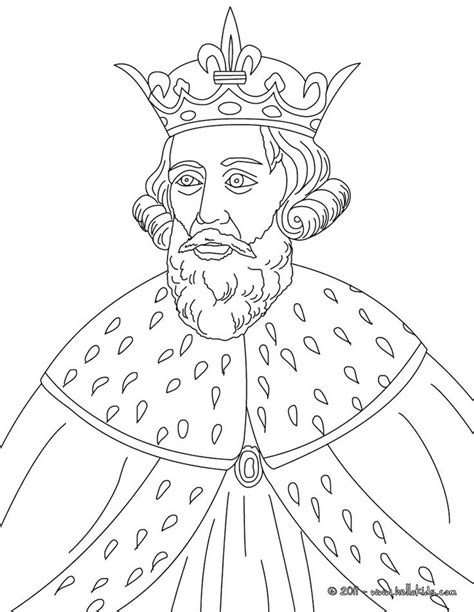 pages king king alfred the great colouring page sonlight c