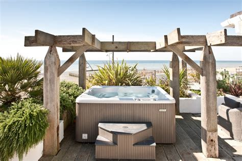 hot new house holiday homes with a hot tub luxury beach house rental
