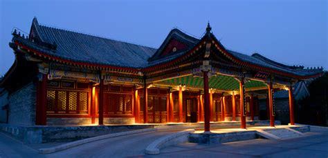 casa china dormir en una casa china en el aman at summer palace