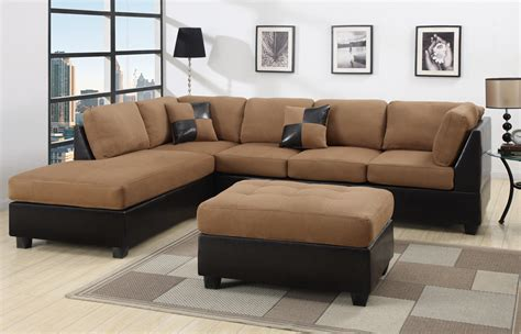 discount sofas 5 black and brown sectional sofa