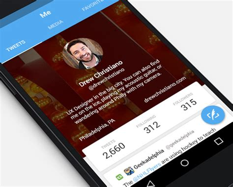material design company profile 40 material design android apps for clean user interfaces