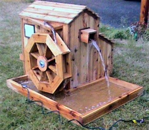 easy wood projects     flow  water