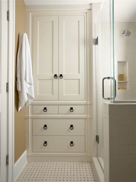 bathroom linen closet ideas bathroom linen closet home design ideas pictures remodel