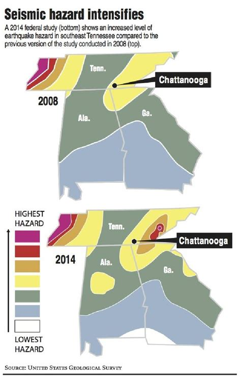ta bay times business section new map shakes up earthquake ratings as tennessee joins