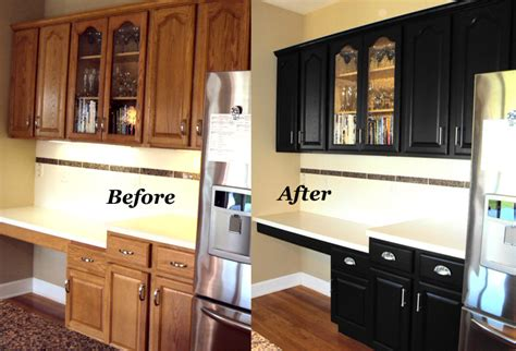 restain kitchen cabinets before and after cabinetry refinishing starlily design studio
