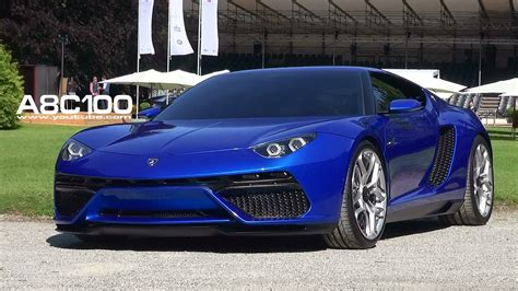 Lamborghini Electric Lamborghini Asterion Running Electric