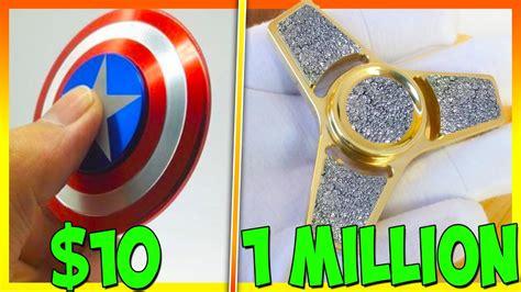 gt fidget spinner 8 dollars 10 fidget spinner vs 1 million dollar fidget