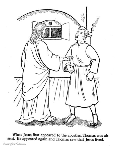 coloring pages jesus appears to the disciples printable christian coloring page 014