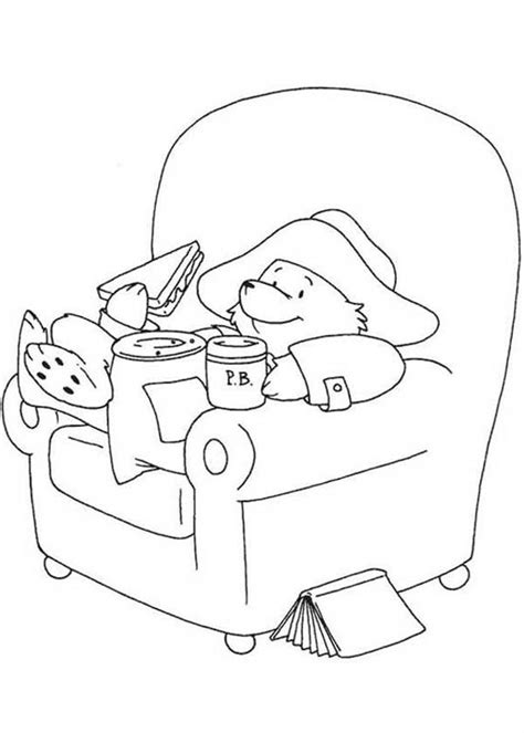 Paddington Bear Coloring Pages Coloring Home Paddington Coloring Pages