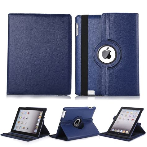 Folio Cover For Mini 1 2 3 Retina Merah 360 rotating magnetic leather folio cover stand for