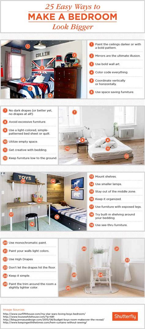 how to make your bedroom look bigger 25 tricks to make your bedroom look bigger diy home