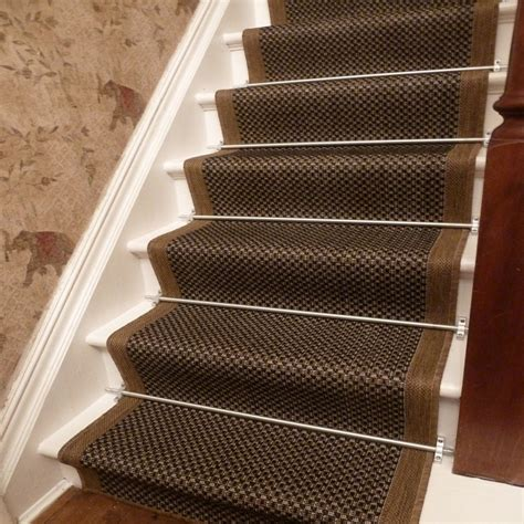 Stair Runner Rug Brown Stair Runner Rug Gingham Carpet Runners Uk