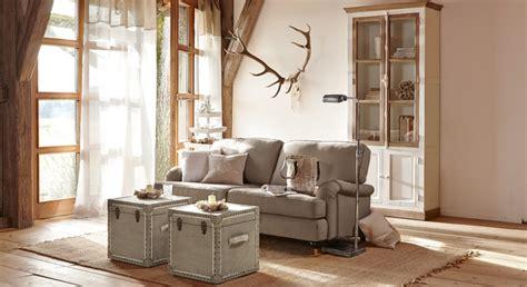 englisch dekor vorhänge wohnzimmer landhausstil dekor