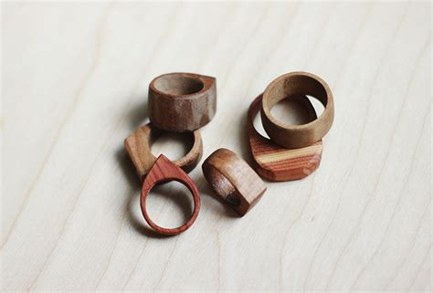 wooden jewelry simple wooden rings 187 the merrythought