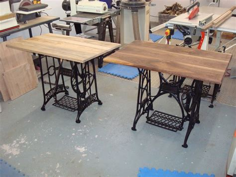 sewing machine table ideas sewing machine ideas bought a few treadle sewing