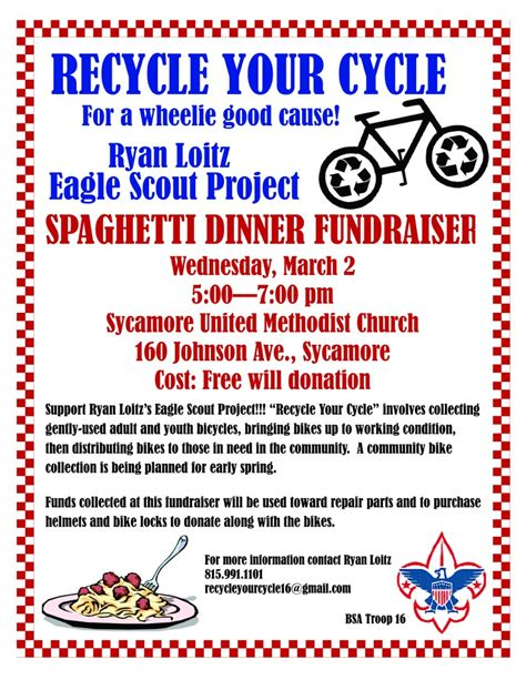 Fundraising Letter For Eagle Scout Project Loitz Eagle Project Spaghetti Dinner Fundraiser Wednesday Dekalb County