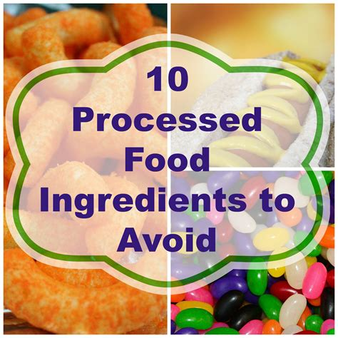 10 Ingredients To Avoid In Your Food by 10 Ingredients To Avoid In Processed Food Part 1