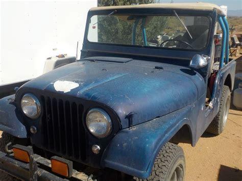 Jeep Cj For Sale By Owner 1962 Jeep Cj 5 Classic Car Sale By Owner In Kingman Az