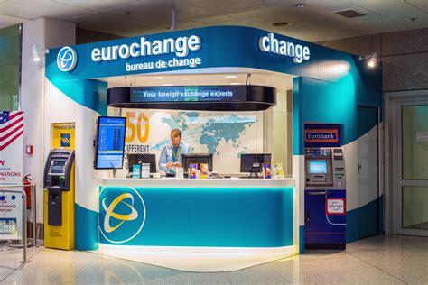 bristol airport bureau de change eurochange exchange servcises