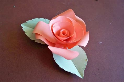 How To Make Paper Roses With Construction Paper - how to make paper roses