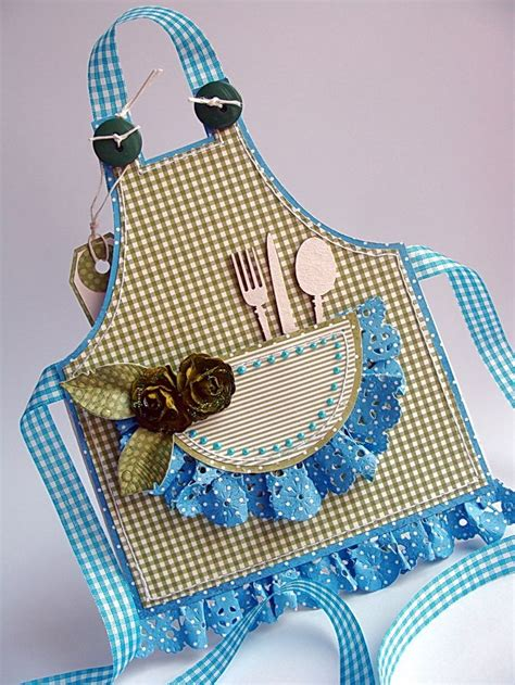 apron shaped card template 89 best cards aprons images on cards aprons