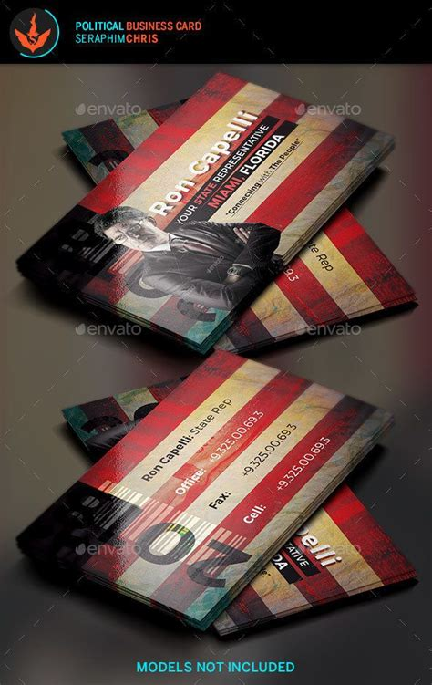 political caign business card templates 17 best images about business cards templates on