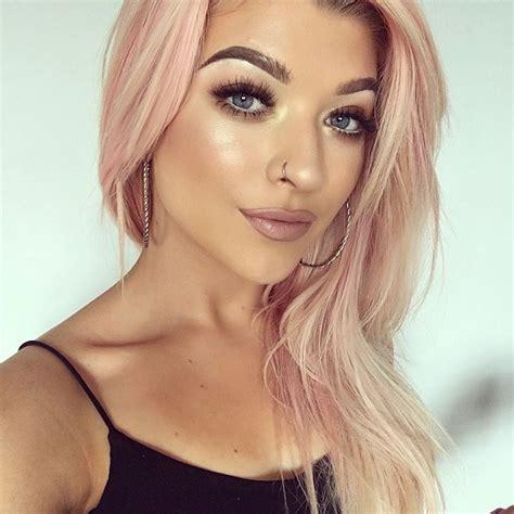 rosegold haircolor instagram rose gold hair color ideas for 2017 new hair