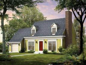 Cape House Plans Cape Cod House Plans At Eplans Com Colonial Style Homes